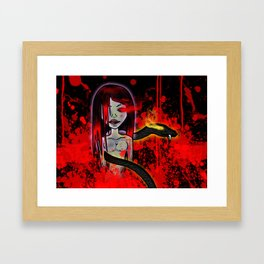 Blood Children Framed Art Print