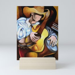 Guajiro guitar tambor Mini Art Print