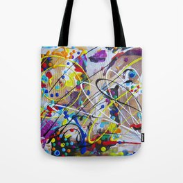 Abstract Etude Tote Bag