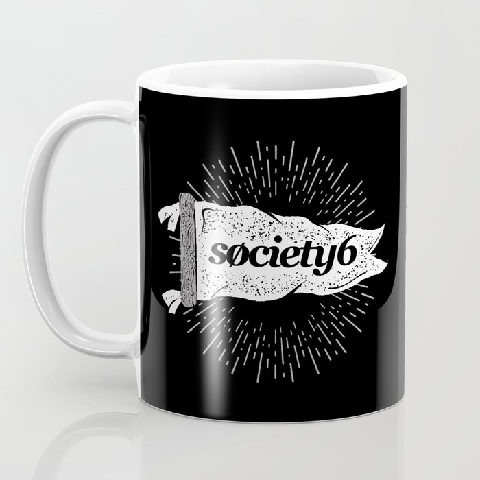 Society6 Banner Coffee Mug