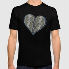 Lacy Seas SMALL Black Mens Fitted Tee