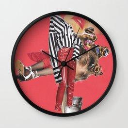 Passing stripe Wall Clock
