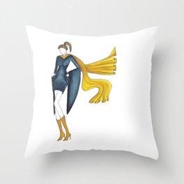 Graduate Gal Throw Pillow