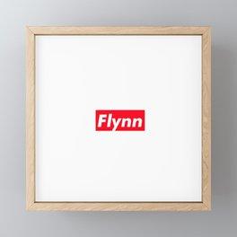 Flynn Framed Mini Art Print