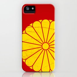 Japanese Emperor' seal iPhone Case