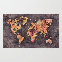 world map 68 Rug