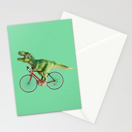BIKE T-REX Stationery Cards