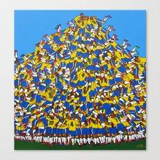 Gol do Brasil Canvas Print