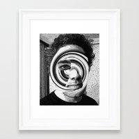 jon contino Framed Art Prints featuring Jon 222 by Jose Luis