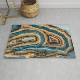 Whale or Woodpecker Agate Rug
