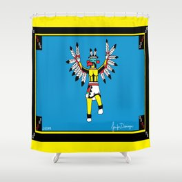 Eagle Kachina Shower Curtain