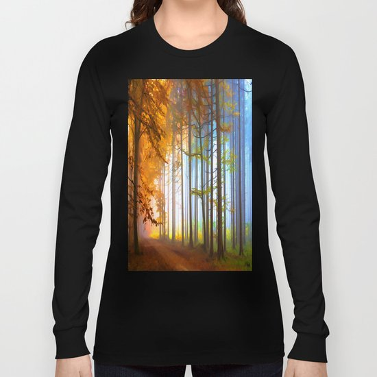 Ethereal Forest  Long Sleeve T-shirt