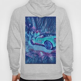 Sports Car Fast Coupé Furious Turbo Diesel Propulsion Hoody