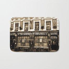 The Sherlock Holmes Pub London Bath Mat