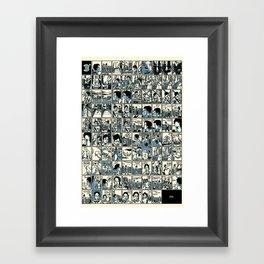 Three Degrees Framed Art Print