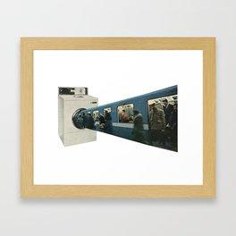 Public Transport Framed Art Print