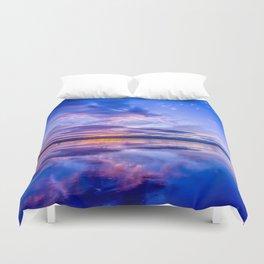 Scottish Sunset Duvet Cover