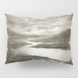 Sepia River Pillow Sham