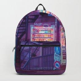 Japanese Vending Machine Wall Art Backpack