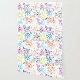 Cats heads Wallpaper