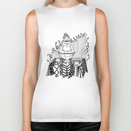 Working hours Biker Tank