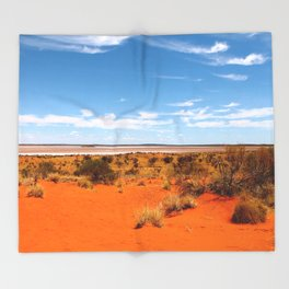 Outback Saltflats Throw Blanket