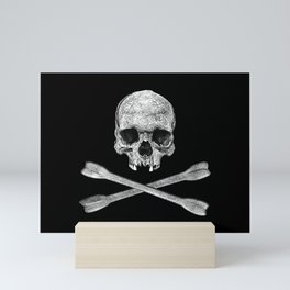 Jolly Roger Banner Mini Art Print