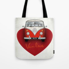 Van Love Tote Bag