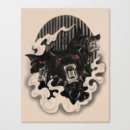 Lasciate ogne speranza (Dark Familiars Series #1) Canvas Print