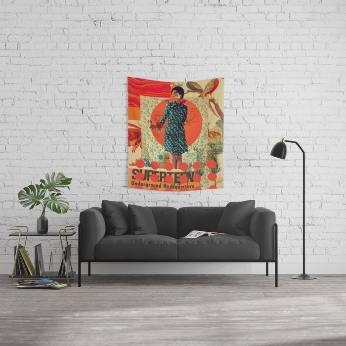 Superteen Wall Tapestry
