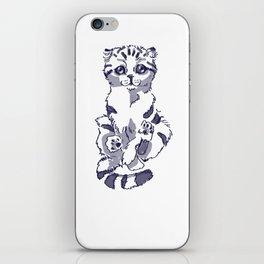 Levitating Cat iPhone Skin