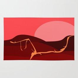 Apocalyptic Sunrise Rug