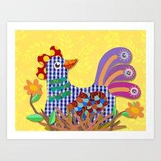 hen Art Print