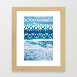 Ocean Doodles #2 Framed Art Print