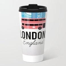 London, England Metal Travel Mug
