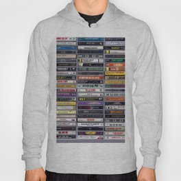 Old 80's and 90's Hip Hop Tapes v2 Hoody