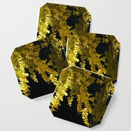 Yellow Ginkgo Leaves Coaster