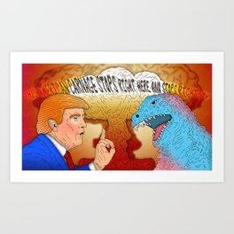 American Carnage Art Print