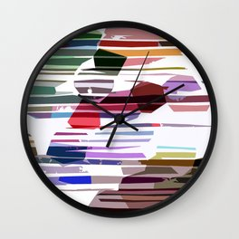 Break the balls Wall Clock
