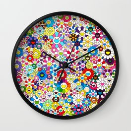Takashi Murakami Shangri-la Shangri-la Shangri-la Wall Clock