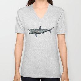 Basking shark (Cetorhinus maximus) Unisex V-Neck