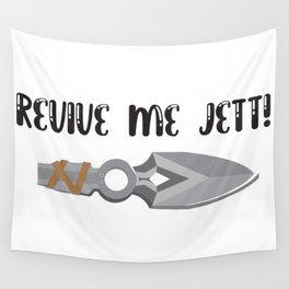Revive Me Jett Valorant Meme Wall Tapestry