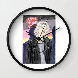 Night Time Wall Clock