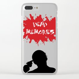 Dead Memories Clear iPhone Case