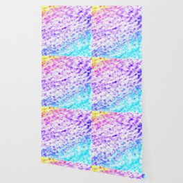 Totally Awesome 80s Colorful Ombre Wallpaper