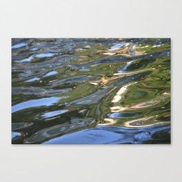 shiny waves Canvas Print