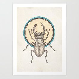 Creature of the Sun Art Print