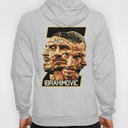 Zlatan Ibrahimovic (Four Faces) - Exposure Hoody