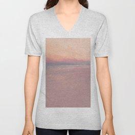 An Abstract Eternal Summer Unisex V-Neck