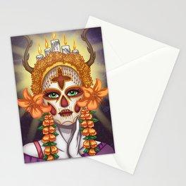 La Catrina  Stationery Cards